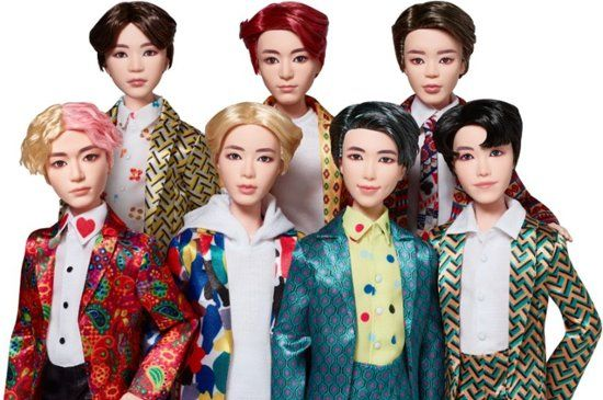 Mattel Barbie BTS Fashion