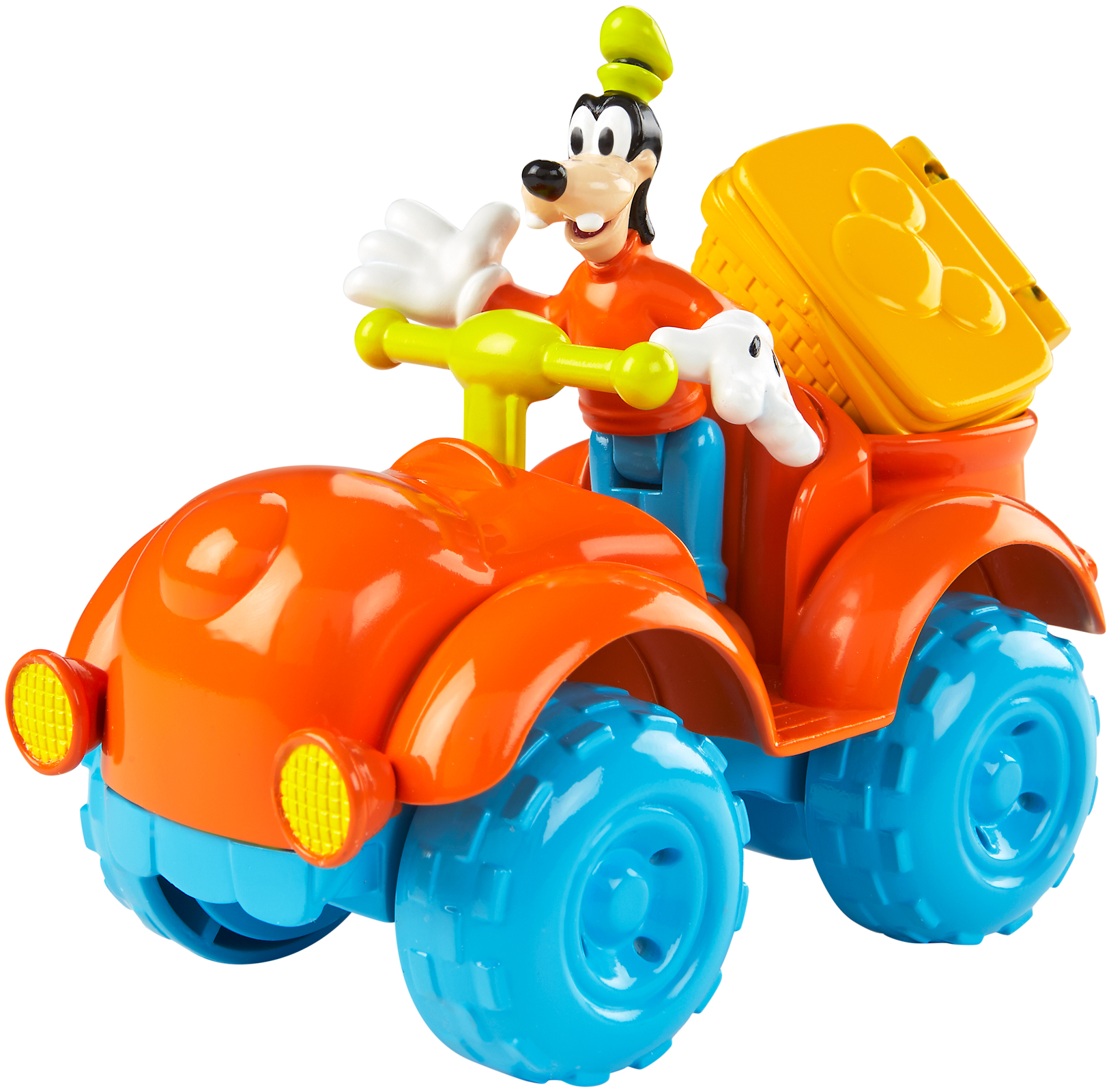 Fisher Price Mickey Mouse Klubík Goofy s ATV