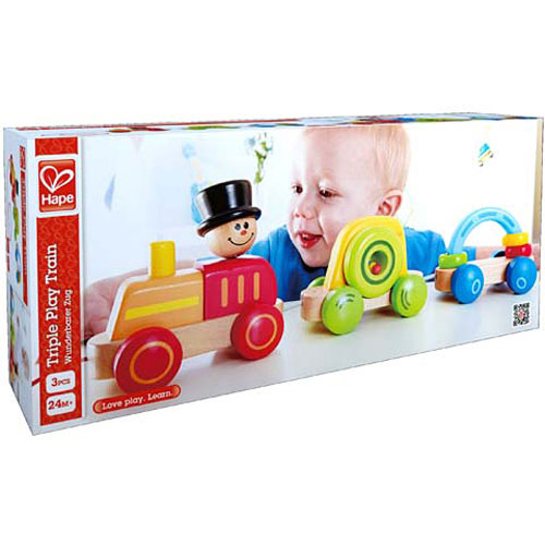 HAPE - Vláček Triple Play
