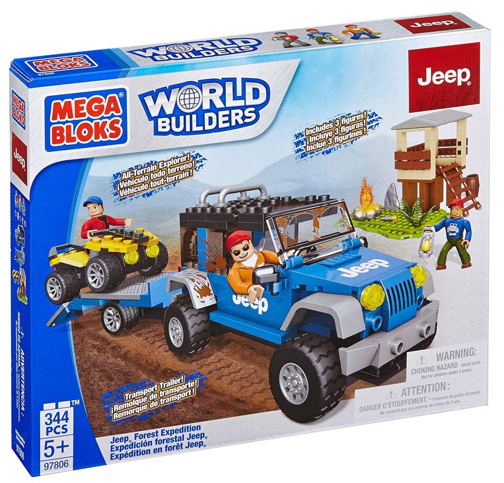Mega Bloks - Forest Expedition Jeep