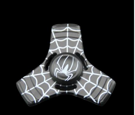 Kovový Fidget spinner Spiderman