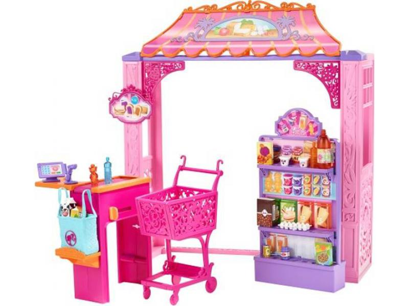MATTEL Barbie Malibu Ave supermarket