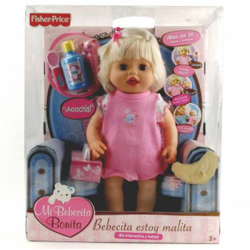 Fisher Price Moje nemocná Becca
