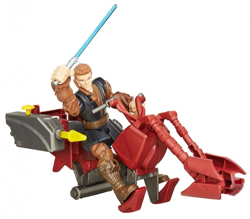 Hasbro Star Wars Hero Mashers speeders Anakin Skywalker