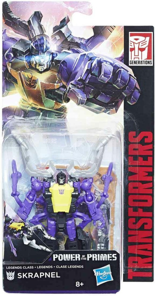 Hasbro Transformers GEN Prime Legends Skrapnel
