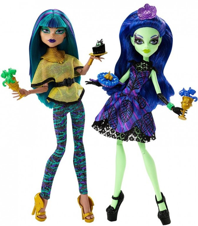 Mattel Monster High Scream a Sugar Amanita Nightshade a Nefera de Nile