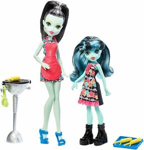 Mattel Monster High sourozenci monsterky 2 ks Frankie Stein